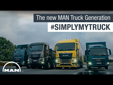 The new MAN Truck Generation #SimplyMyTruck | MAN Truck & Bus