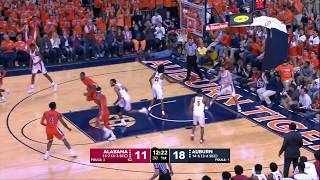 Auburn Men's Basketball Highlights vs. Alabama