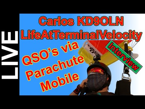 Parachute Mobile with Carlos KD9OLN - How He Makes QSO's