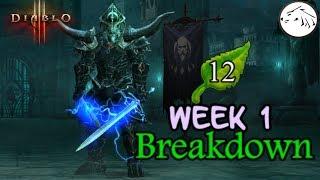 Diablo 3 Season 12 Week 1 Recap patch 2.6.1