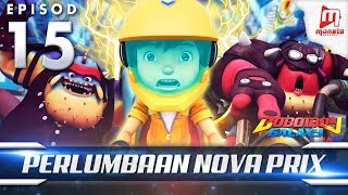 BoBoiBoy Galaxy EP15 | Perlumbaan Angkasa Nova Prix
