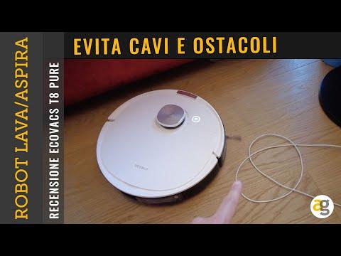 Il PRIMO ROBOT che EVITA CAVI e OSTACOLI …