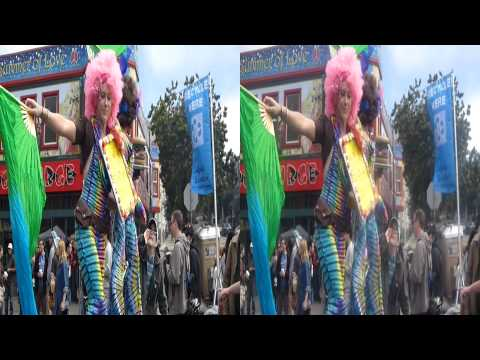 BIG Fun Circus @ Haight Street Faire (Steroscopic 3D)