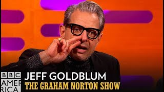 Jeff Goldblum Gets Into Specific Detail About His Nose Hair - The Graham Norton Show