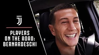 JUVENTUS PLAYERS ON THE ROAD: FEDERICO BERNARDESCHI   EXTENDED VERSION