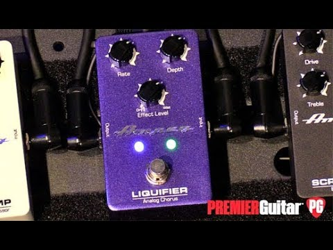 NAMM '18 - Ampeg Liquifier and Opto Comp Demos