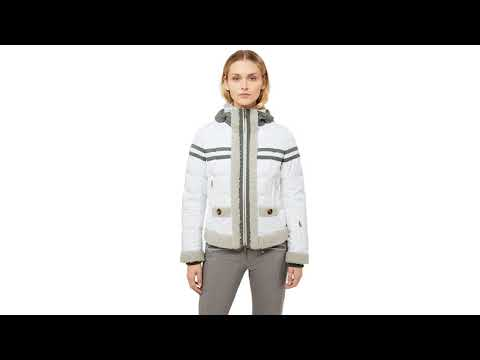 Bogner Zaida D Womens Ski Jacket in White