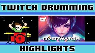 Dan Bull Overwatch Rap (Drum Cover) -- The8BitDrummer