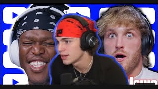 Vinnie reacts to ksi & Logan Paul talking about him.