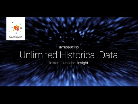 Brandwatch Unlimited Historical Data is the fastest comprehensive historical analysis tool available in the world. With Brandwatch Analytics, users can collect up to three years of detailed historical data in just minutes to get even closer to social insights at unprecedented speeds.