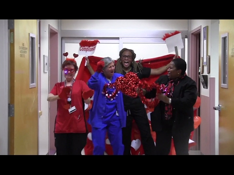 Mercy Health System Go Red Dance 2017