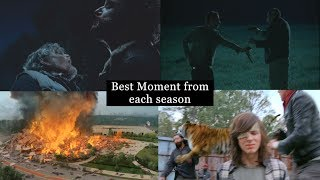 The Walking Dead - Best Moment From Each Season (S1-S7)