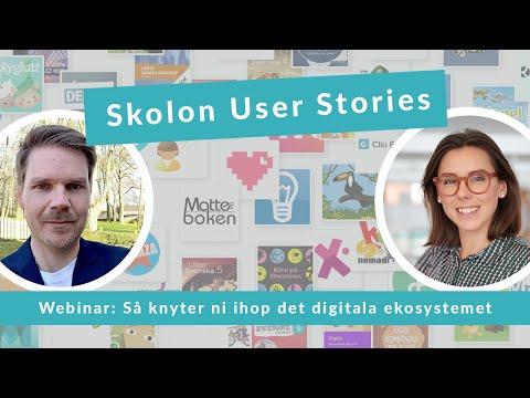 Skolon User Stories gästas av Ystad gymnasium - så knyter ni ihop det digitala ekosystemet