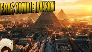Eras Zombie Invasion Starcraft 2 Mod - Egypt Last Nation in Zombie World