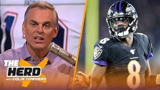 Ravens are emerging as contenders, Colin is worried how the Packers lost on Sunday | NFL | THE HERD