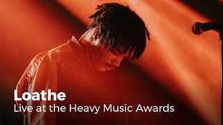 Loathe - White Hot   Live at the Heavy Music Awards 2019