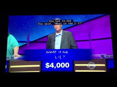 Only TWO for Final Jeopardy...again