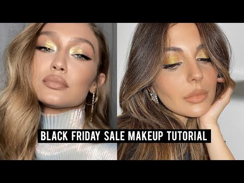 Full Face of BLACK FRIDAY Makeup on SALE | Gigi Hadid Inspired