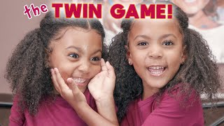THE TWIN GAME! DO THEY KNOW EACH OTHER?