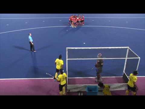 Malaysia v Korea. Azlan Shah Cup 2015. Mens field hockey. Full game.