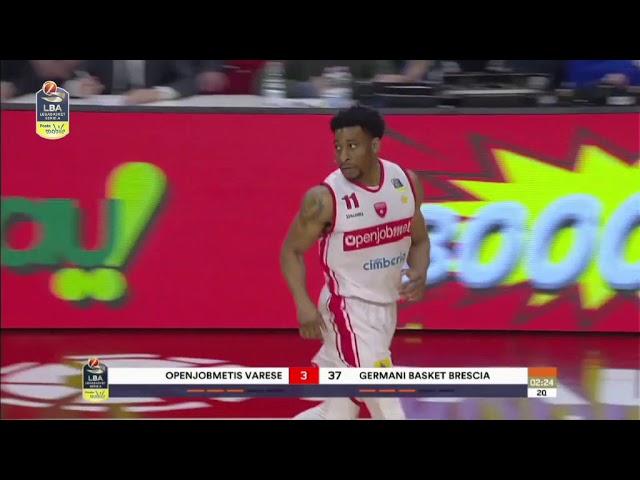 Openjobmetis Varese-Germani Basket Brescia