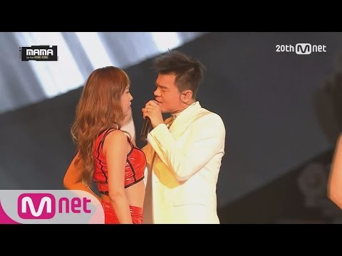 [J.Y.Park-24 hours+Who′s your mama?] KPOP Concert MAMA 2015 | EP.2