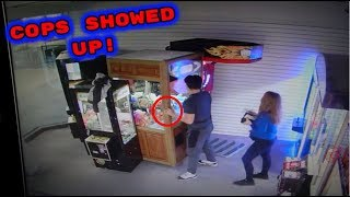 ABSOLUTE MORON VANDALIZES MY ARCADE!!!!!