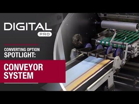Digital Pro Converting Option Spotlight: Conveyor System | Digital Hybrid Label Presses