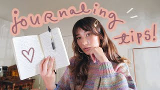 how i finally started journaling *and actually enjoying it*