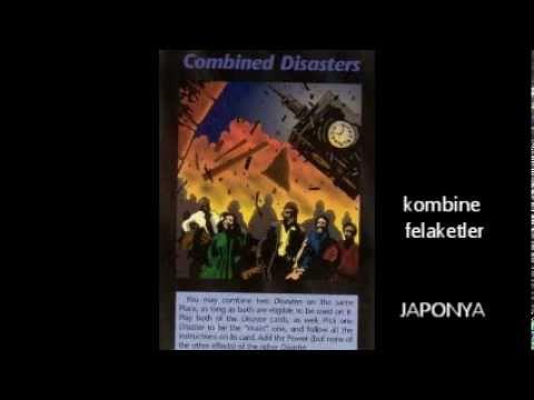 illüminati oyun kartları deşifre PLAY CARDS Japan earthquake