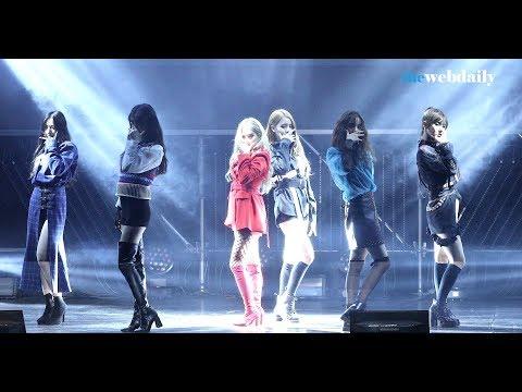 [WD영상][4K] (여자)아이들  LATATA - 데뷔 쇼케이스 라이브 무대