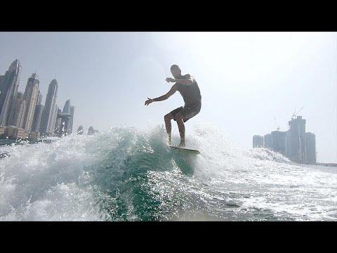"""Szörfözés mesterséges hullámokon a """"leglaposabb"""" vizeken"""