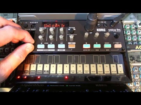 KORG volca fm + Eventide SPACE