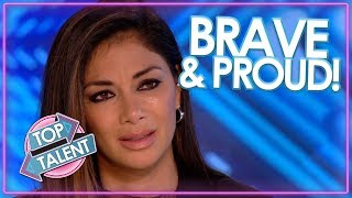 BRAVEST & MOST EMOTIONAL AUDITIONS On X Factor & Got Talent