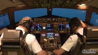 Rapid Descent (Depressurisation) in a Boeing 777