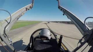 Flying with the Air Force in a T-38C Talon