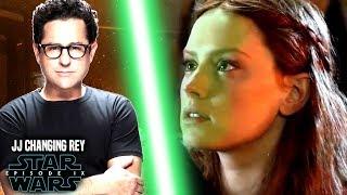 Star Wars! JJ Abrams Changing Rey In Episode 9! (Star Wars News)