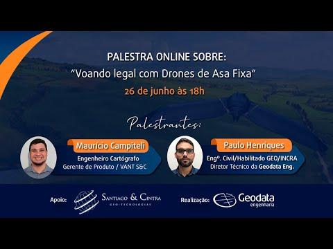 Voando legal com Drones de Asa Fixa