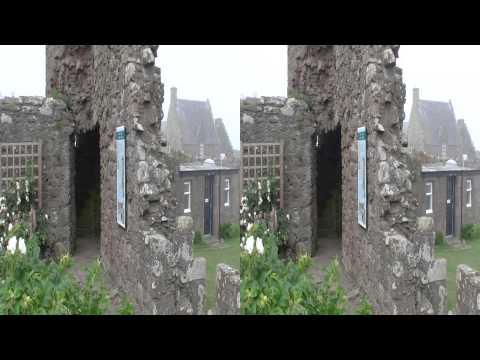 Scotland Dunnotar Castle 3D