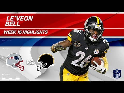 Le'Veon Bell Highlights | Patriots vs. Steelers | NFL Wk 15 Player Highlights