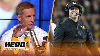 Joel Klatt declares Michigan is better than Notre Dame, talks CFB playoff rankings | CFB | THE HERD