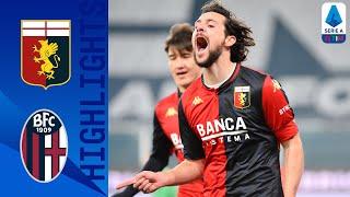 Genoa 2-0 Bologna | Zajc & Destro Clinch Important Win for Genoa | Serie A TIM