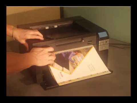 Kodak i2900 Scanner with integrated Flatbed Preview