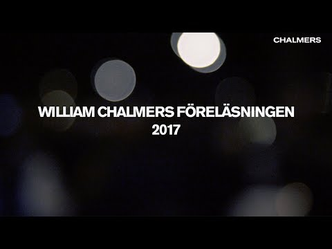 """William Chalmers föreläsningen 2017: """"Så kan vi tvätta atmosfären på koldioxid"""""""