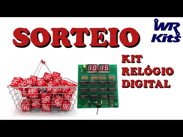 KIT RELÓGIO DIGITAL (SORTEIO) | Promoção #004