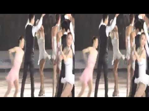 [3D] 2014 All That Skate - Day 1 - Curtain Call - 1