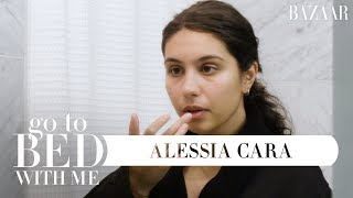 Alessia Cara's Nighttime Skincare Routine | Go To Bed With Me | Harper's BAZAAR