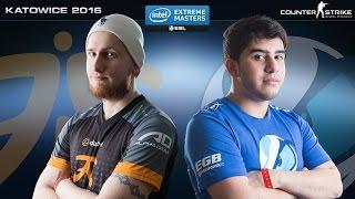 CS:GO - Fnatic vs. Luminosity [Overpass] Map 1 - IEM Katowice 2016 - Grand Final