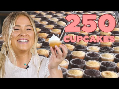 I Tried To Frost 250 Cupcakes In 5 Minutes ? Tasty
