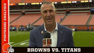 Browns vs. Titans Postgame Analysis | Cleveland Browns
